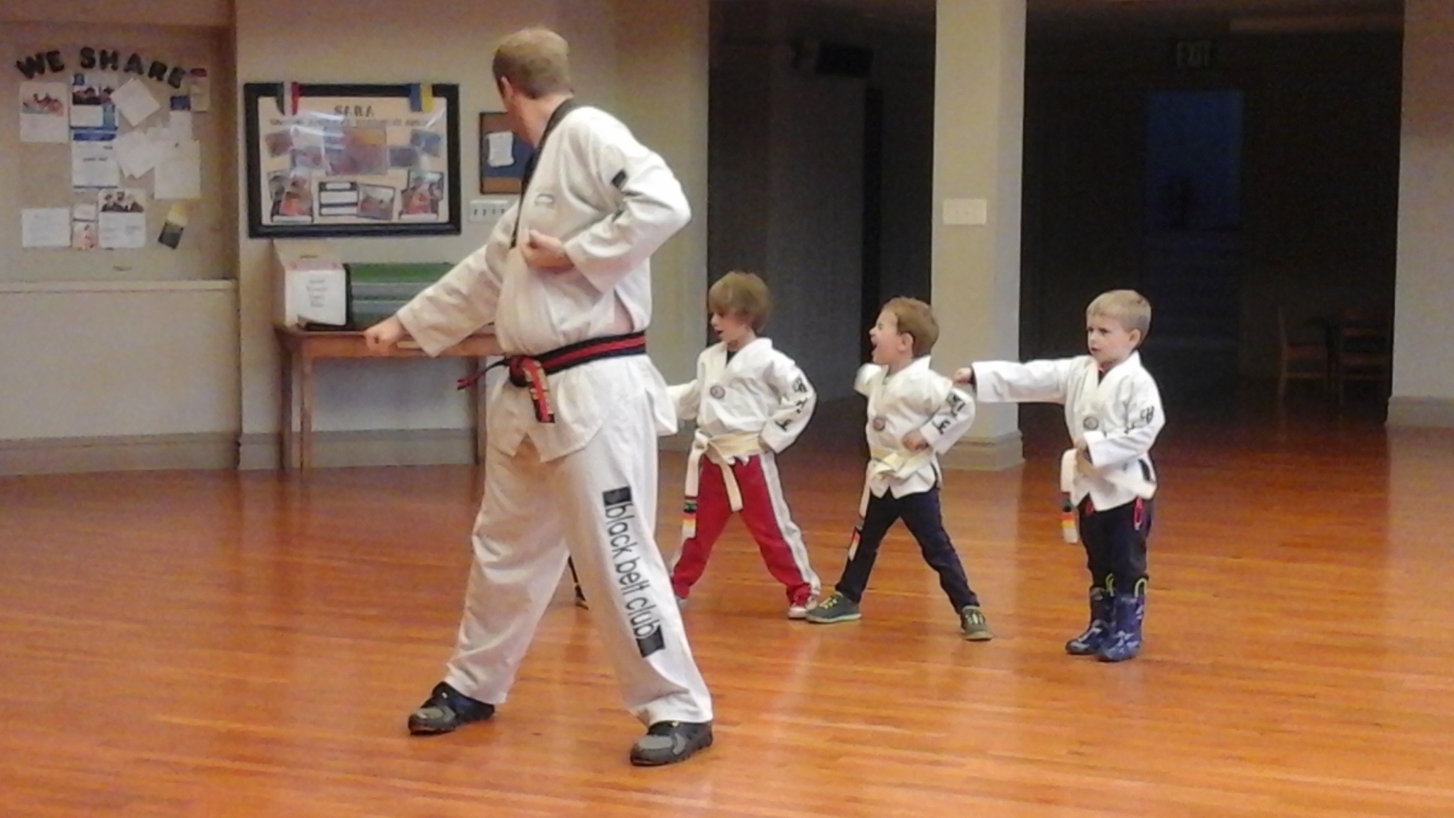 Tae Kwon Do Second Session - Absorbent Minds Montessori School