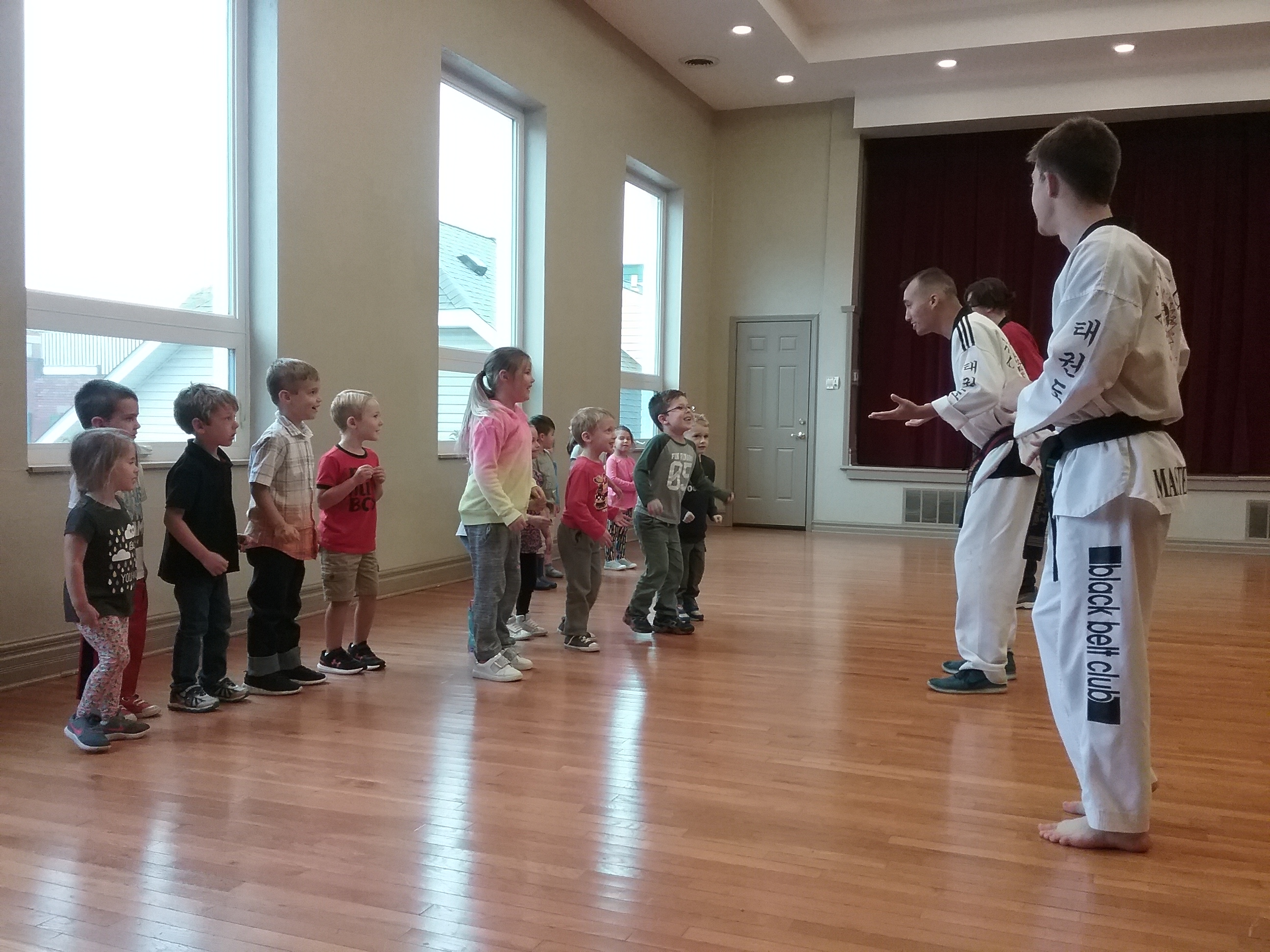 A peek into Tae Kwon Do | Session 3 - Absorbent Minds Montessori School